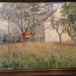 Peinture à l'huile de Léonie Mottard Van Marcke